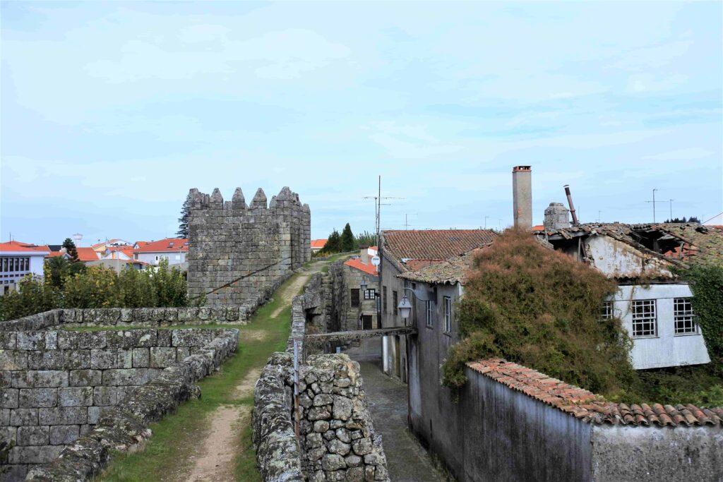 城壁の上の徒歩スペース(反対側)