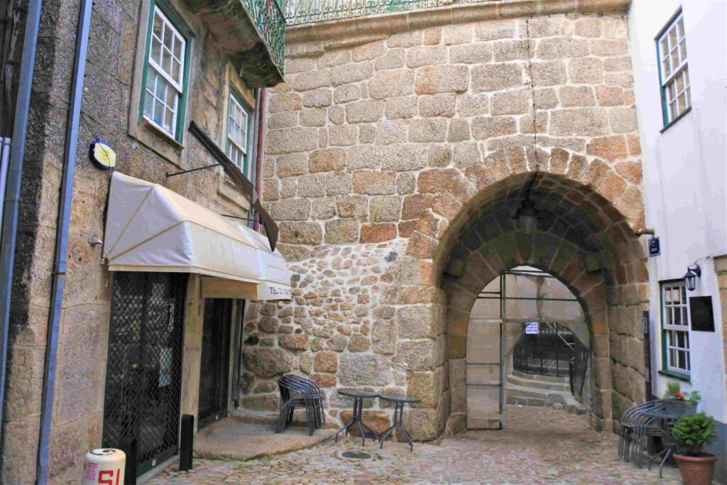 城壁の入口