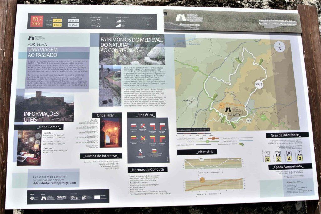 ハイキングコースマップ