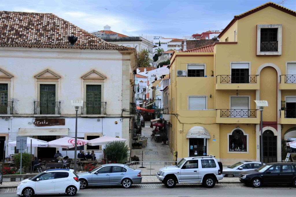 家々が並ぶ市街地