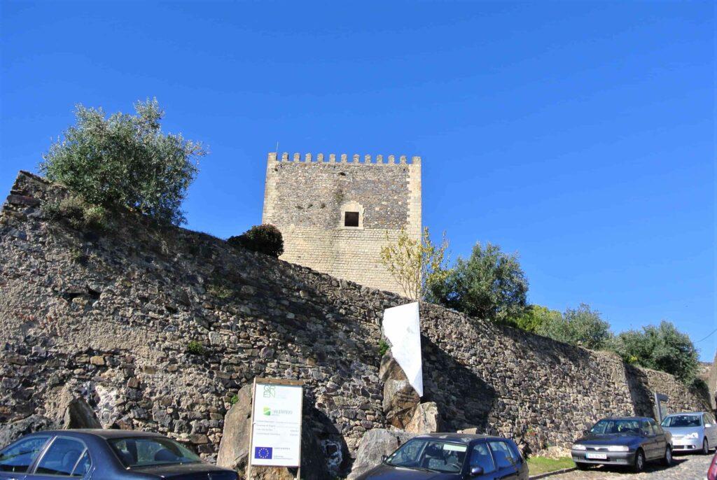 カステロ・デ・ヴィデ城の塔
